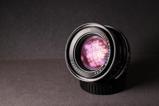 Close-Up Photography of Camera Lens