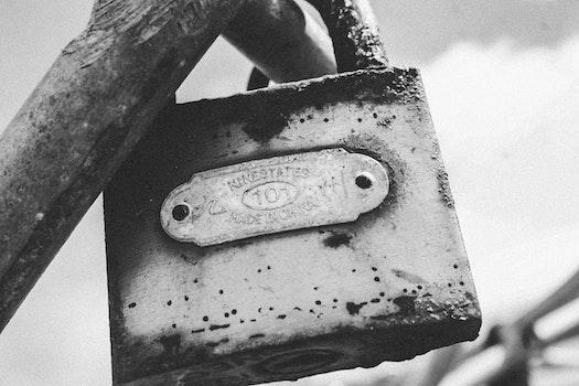 Free stock photo of metal, rust, old, lock