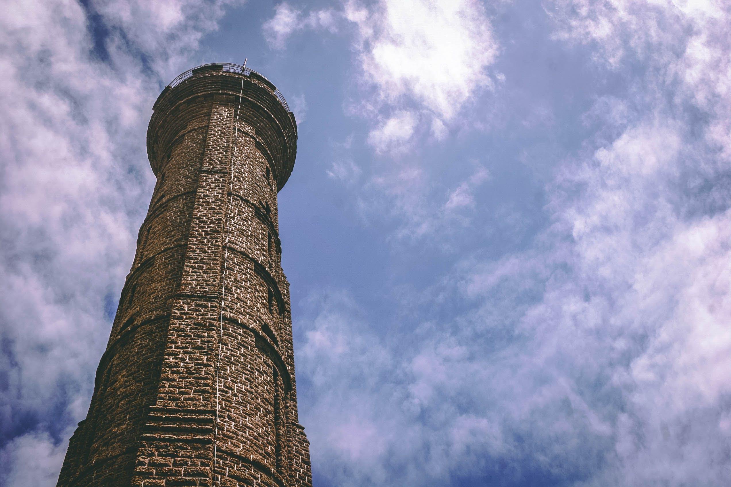 Brown Brick Watchtower