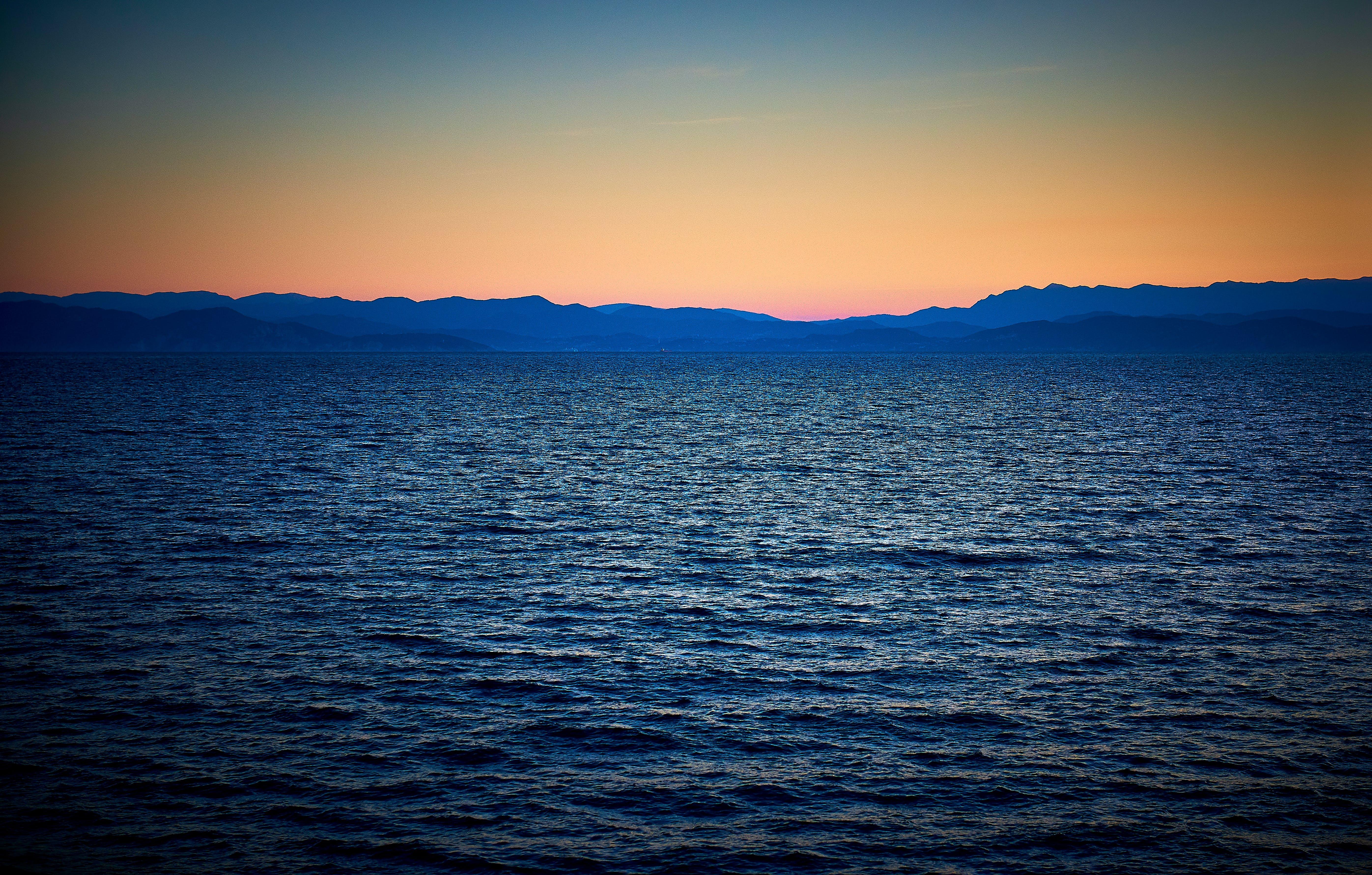 Free stock photo of mediterrean, ocean, ocean cruise, sunset