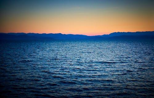 Gratis lagerfoto af hav, krydstogt, mediterrean, solnedgang