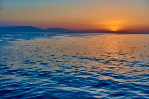 Gratis lagerfoto af hav, mediterrean, solopgang