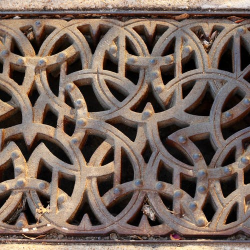 Free stock photo of grate
