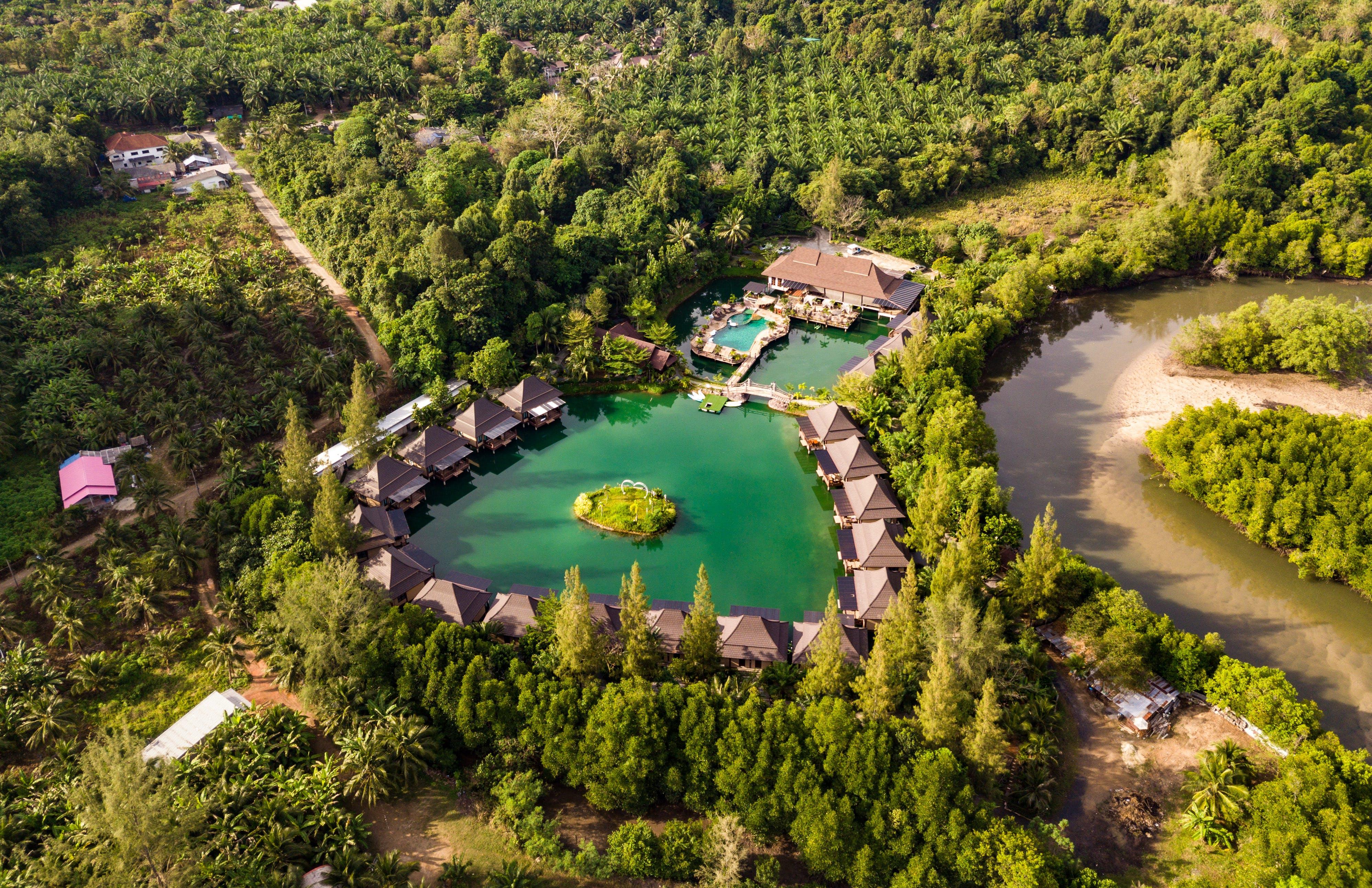 Bird's Eye View of Resort