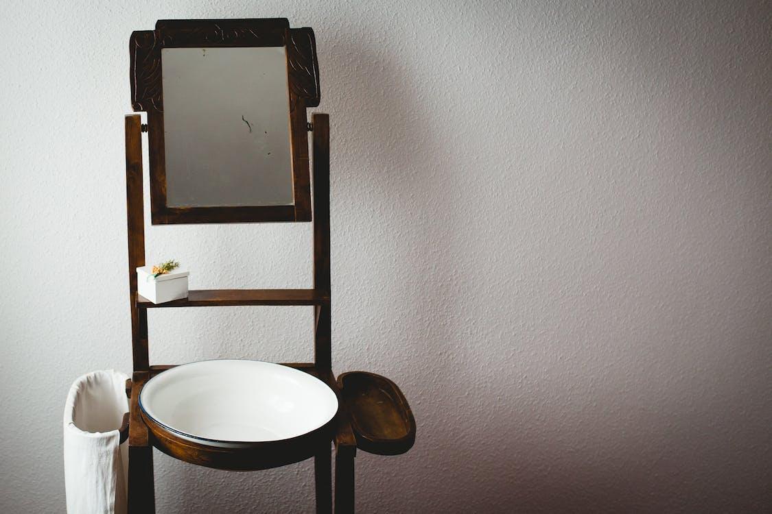 à l'intérieur, bois, chaise