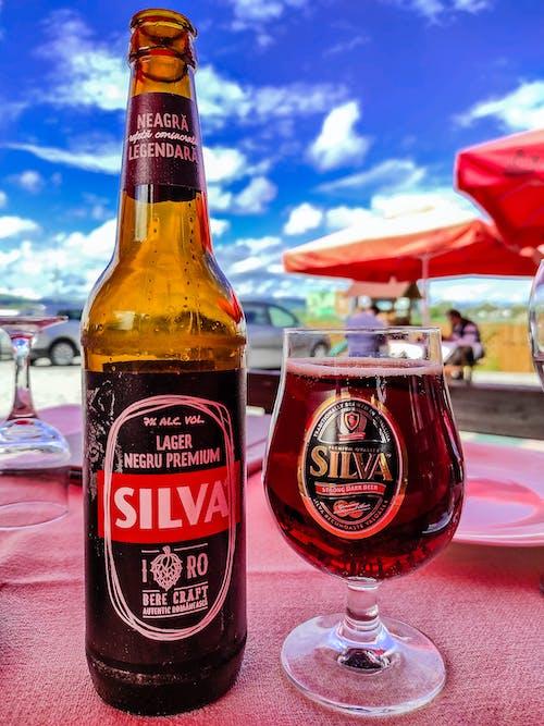 Free stock photo of barna sör, beer, beer bottle