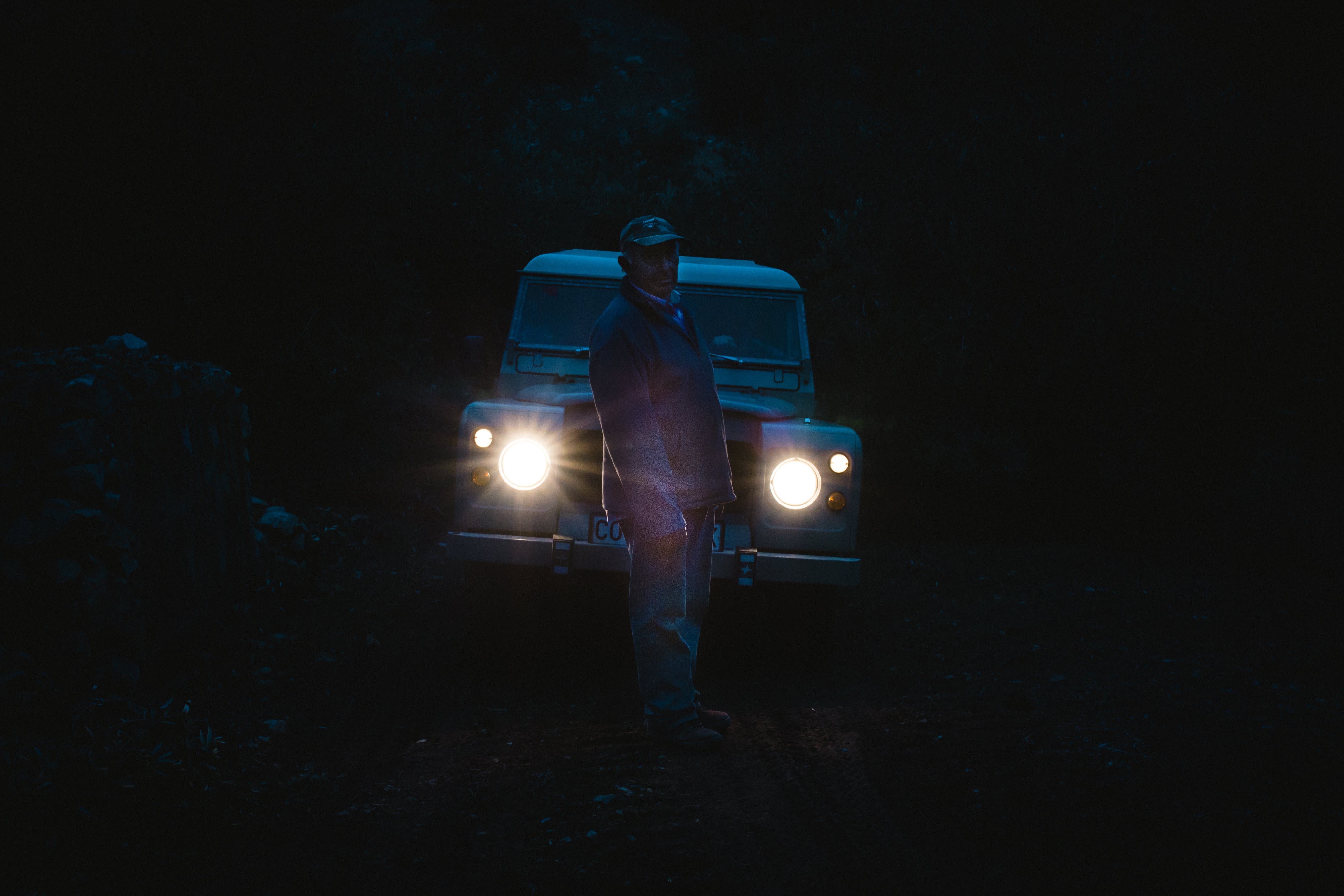 Free stock photo of light, father, country, range rover