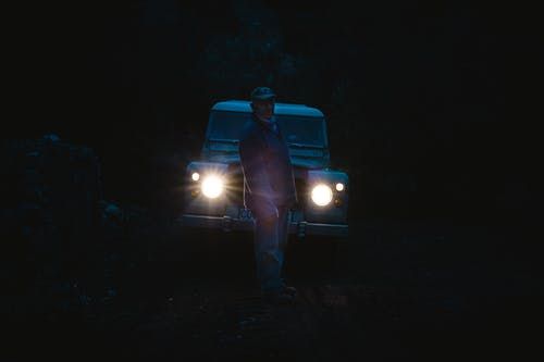 Free stock photo of country, father, light, range rover