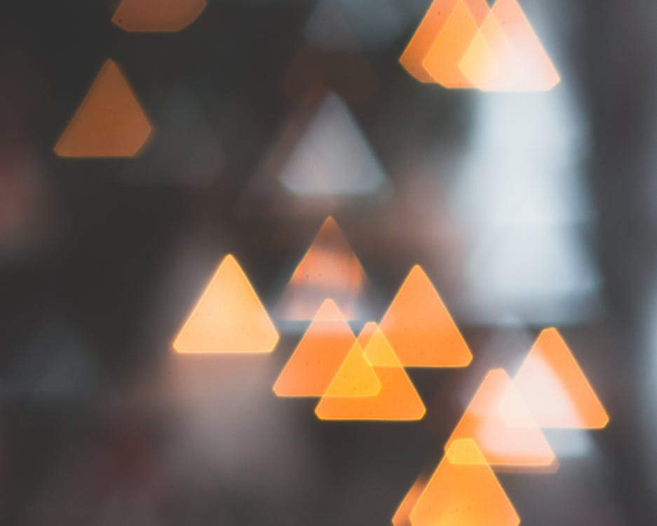 ぼかし, ぼやける, 三角形