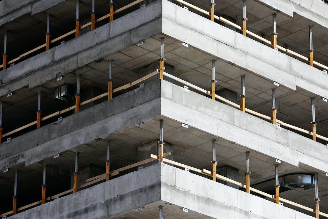архітектура, багаторівневий, бетон