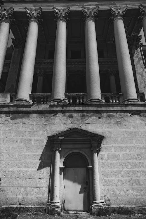 Foto profissional grátis de arquitetura, colunas, construção