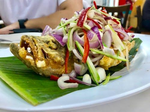Безкоштовне стокове фото на тему «їжа, азіатська їжа, бананове листя, здорова їжа»