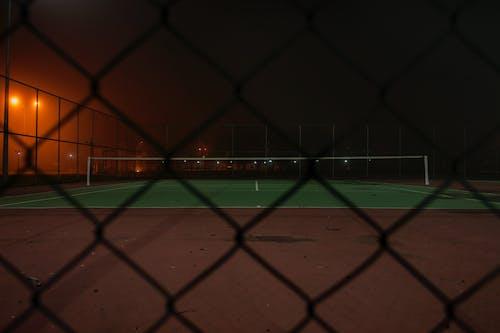 그물, 들판, 밤, 보케의 무료 스톡 사진