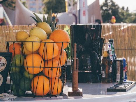 Free stock photo of fruits, basket