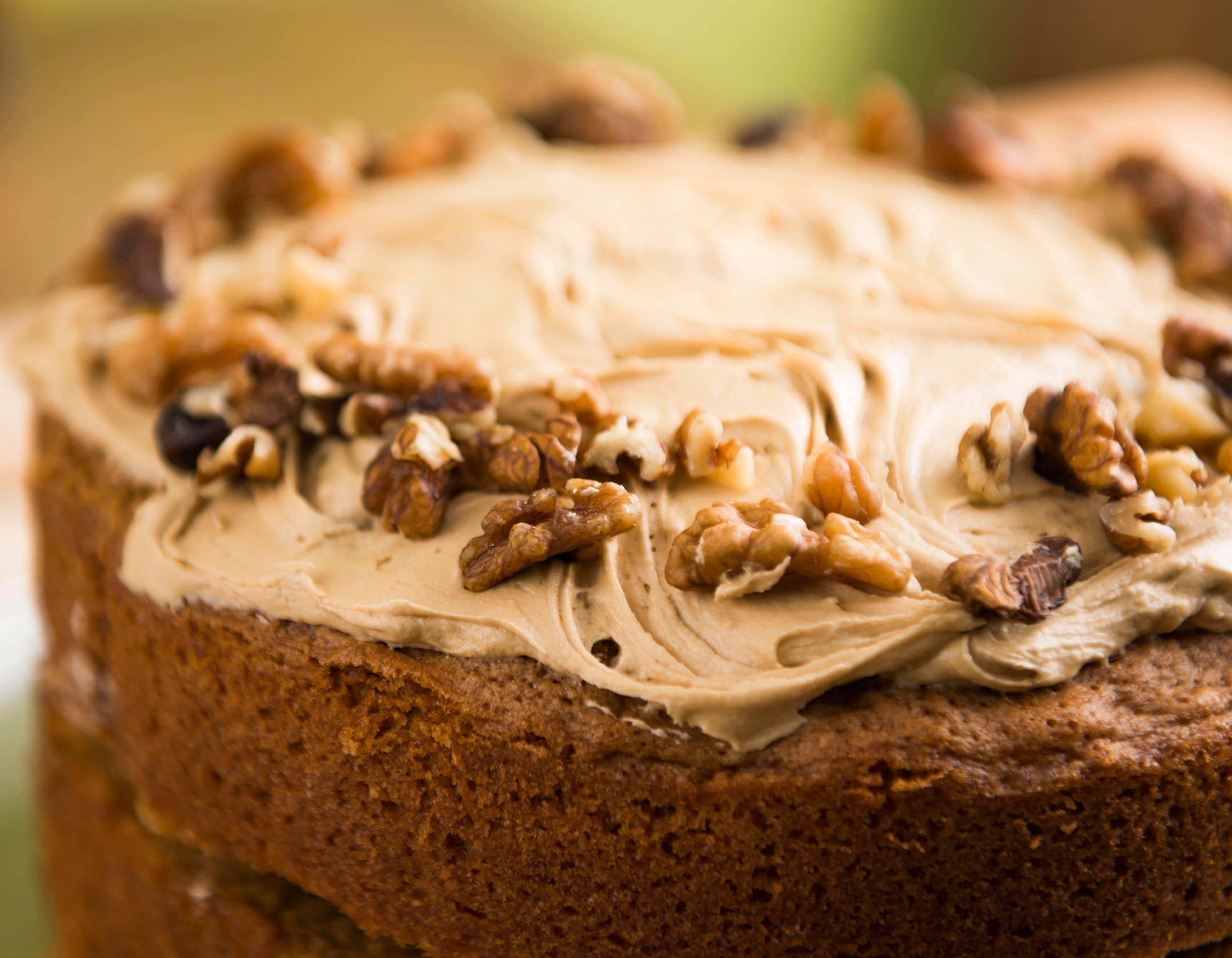 맛있는, 슬라이스 조각, 초콜릿, 케이크의