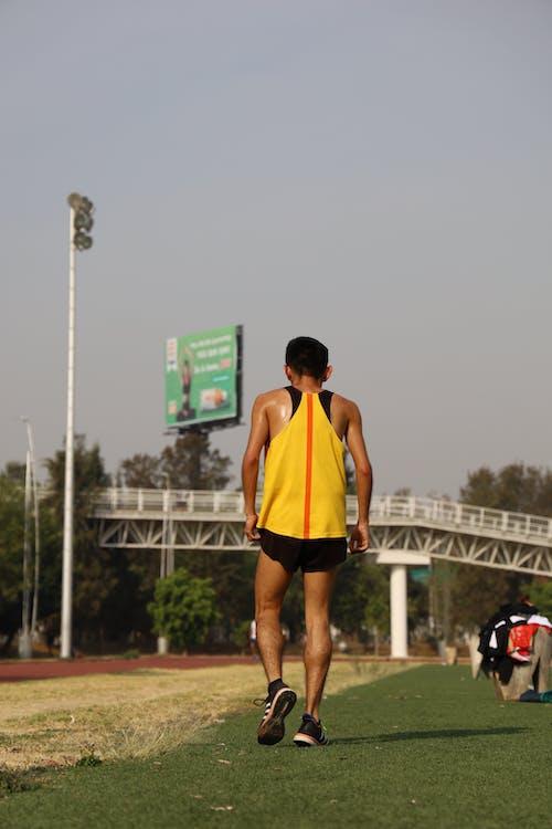 Free stock photo of exercise, jogging pants, perspiring
