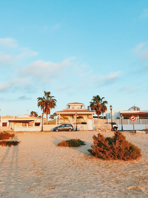 Free stock photo of architecture, beach, beach island
