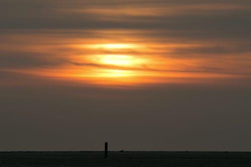 Kostenloses Stock Foto zu holland, sonnenuntergang, strand