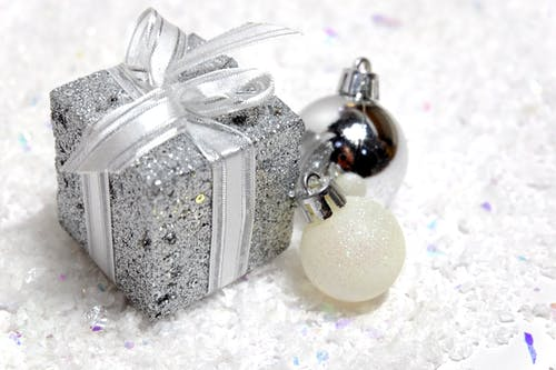 Free stock photo of bauble, christmas, noel, silver