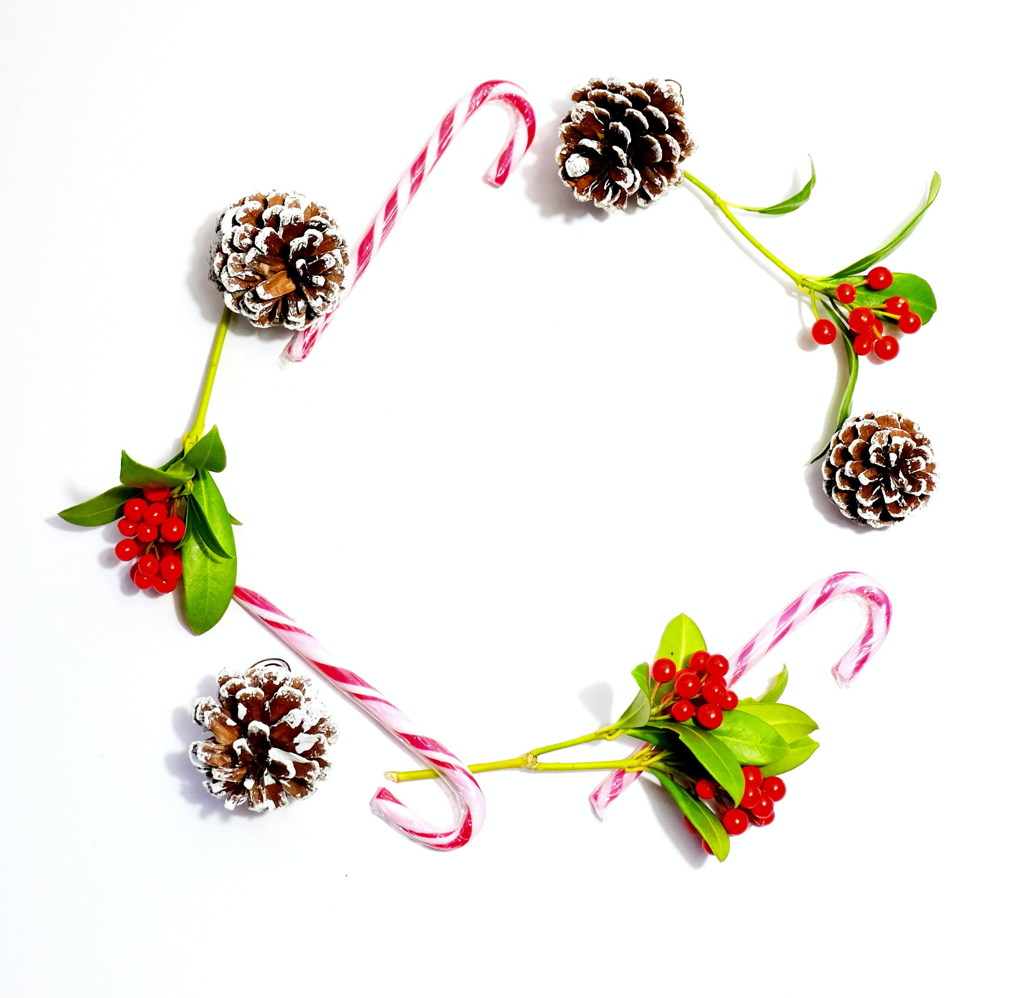 Free stock photo of berries, christmas, crown, pinecone