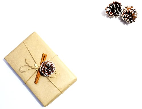 Free stock photo of christmas gift, cinnamon sticks, craft, handmade