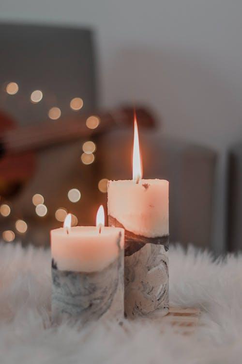 Gratis arkivbilde med advent, avslapping, brennende lys