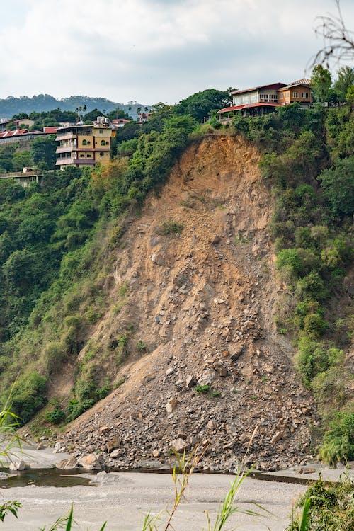 Ingyenes stockfotó földcsuszamlás, ijesztő, katasztrófa témában