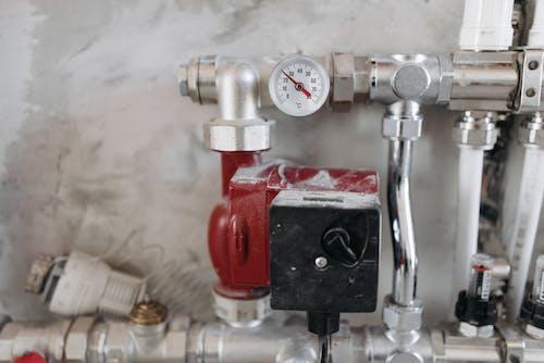 Steel Pipes with Pressure Gauge