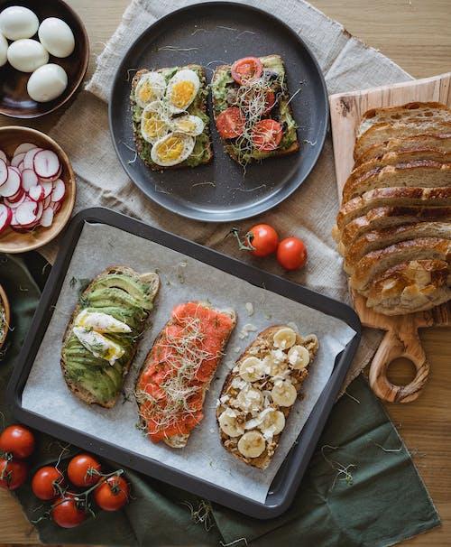 Avokado, balık, balıklar içeren Ücretsiz stok fotoğraf