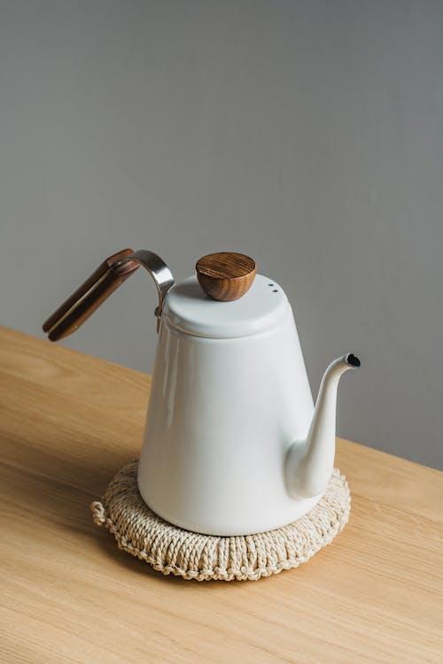 คลังภาพถ่ายฟรี ของ กาน้ำชา, การถ่ายภาพหุ่นนิ่ง, ขาว