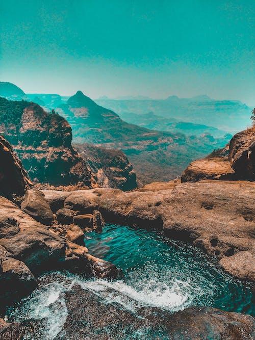 天性, 天空, 山, 岩石 的 免费素材照片