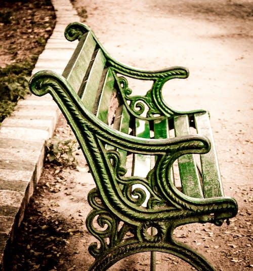 Free stock photo of bench, brown, garden