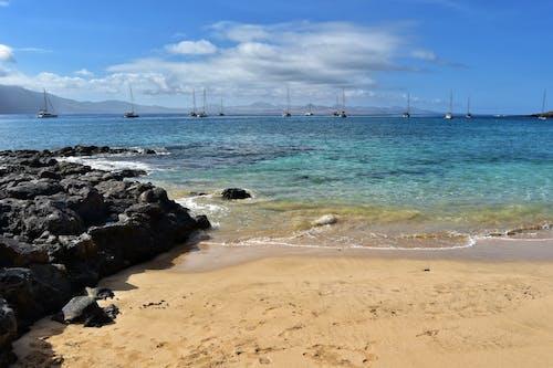 Free stock photo of beach, boat, canary, Graciosa