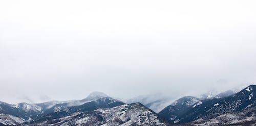 bulutlar, buz, dağlar, doğa içeren Ücretsiz stok fotoğraf