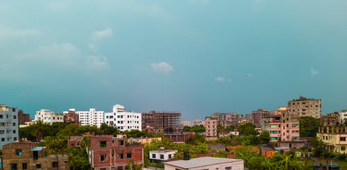 Free stock photo of apartment buildings, architectural building, bangladesh