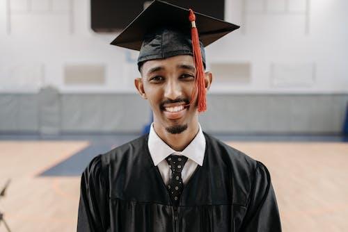 Man in Black Academic Gown