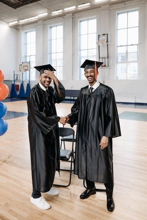 Free stock photo of academic cap, academic degree, accomplishment