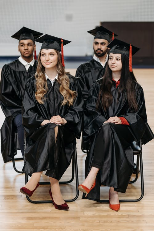 Fotobanka sbezplatnými fotkami na tému aan lichtbak toevoegen, absolventi, absolventské cvičenia