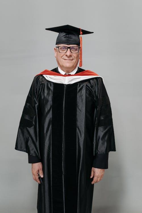 Foto stok gratis bingkai hitam, direktur sekolah, ekspresi muka