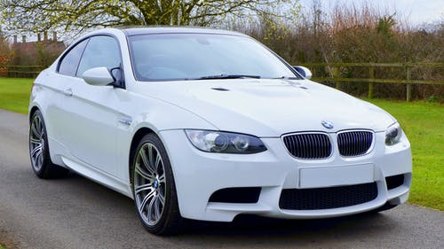 White Bmw Coupe