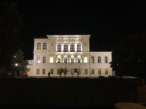 Free stock photo of facade, illuminated, nightscape