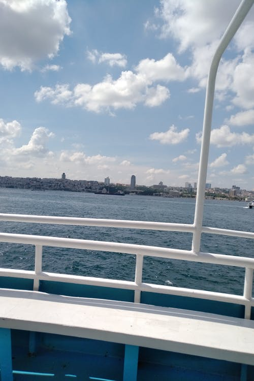 Free stock photo of blue sky, boat trip, city skyline