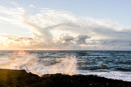 Imagine de stoc gratuită din apă, cer, face cu mâna, faleză