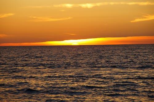 Kostnadsfri bild av hav, havsområde, himmel, moln