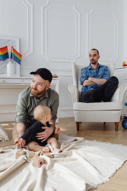 คลังภาพถ่ายฟรี ของ # ในร่ม, LGBT, ครอบครัว