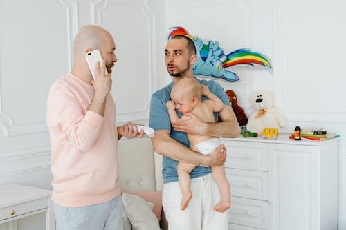 คลังภาพถ่ายฟรี ของ lgbt-h, กลุ้มใจ, ครอบครัว