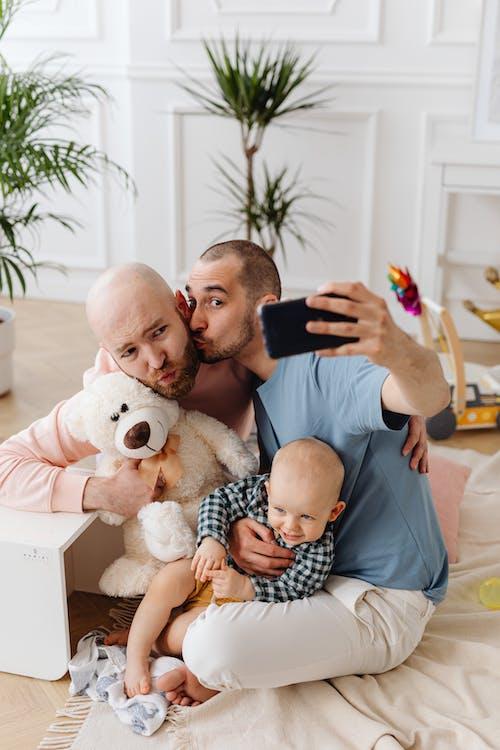 Free stock photo of baby, child, dad