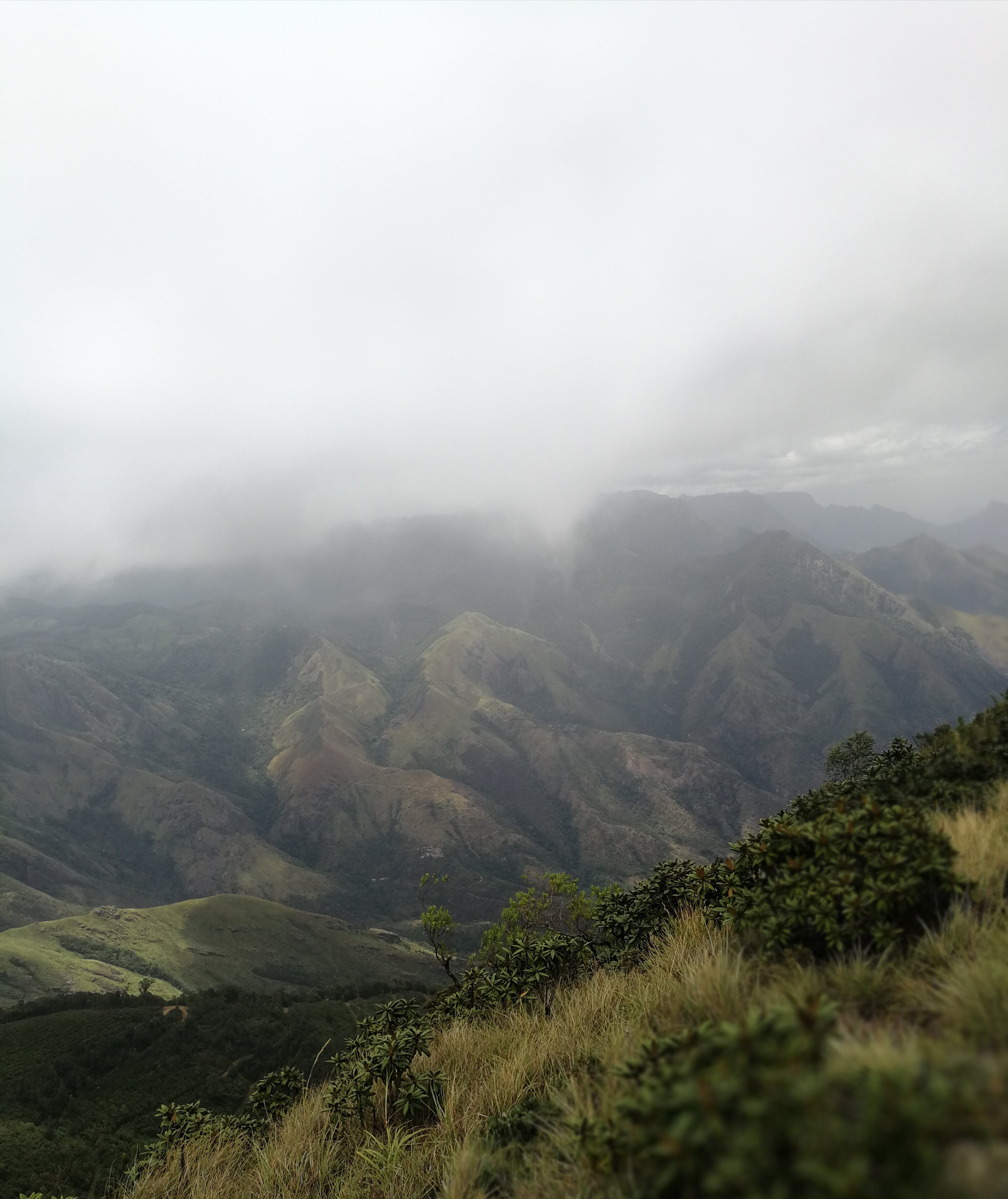 Photo of Mountain With Mist