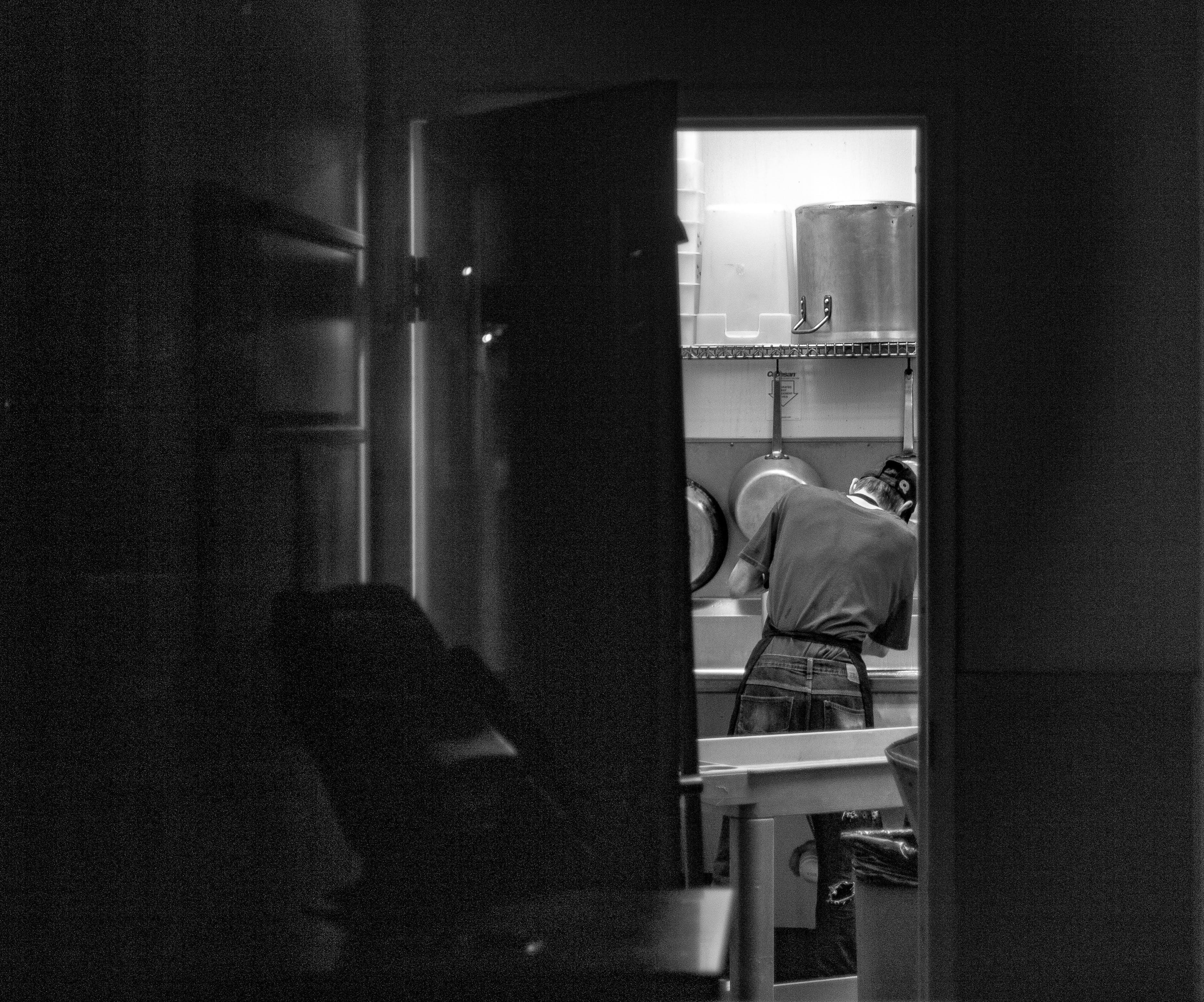 Man on Kitchen