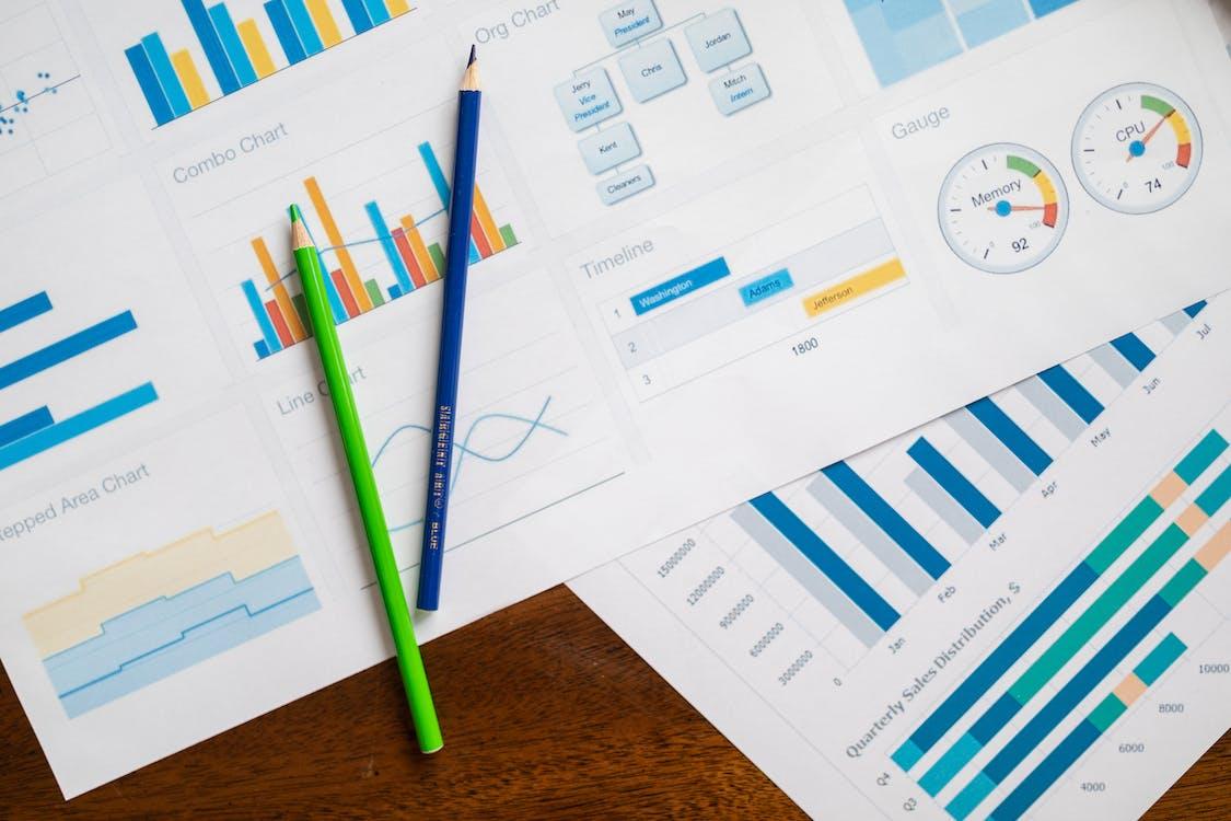 Бесплатное стоковое фото с бизнес, биржа, бумага